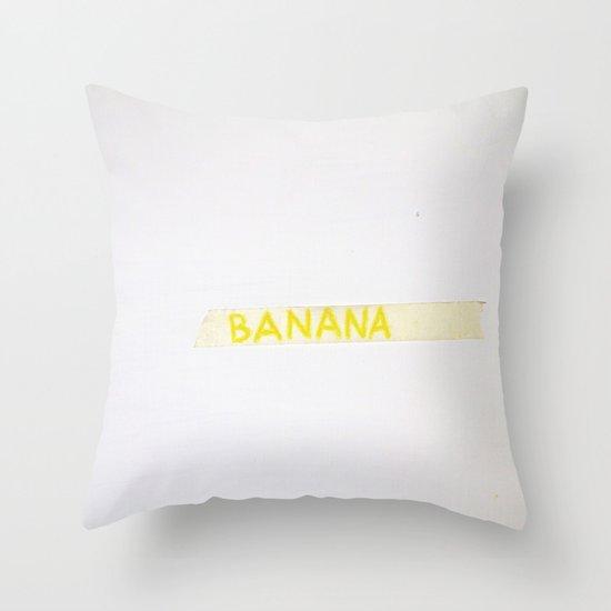 Con amore. Il tuo fruttivendolo Throw Pillow
