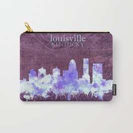 louisville skyline vintage Carry-All Pouch