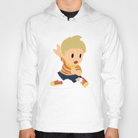 super smash bros Hoodies featuring Lucas Super Smash Bros by jeice27
