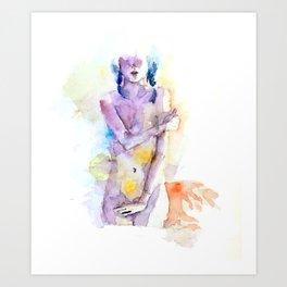 Nude 3 Art Print