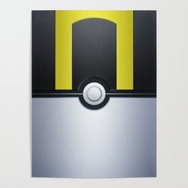 Pokéball - Ultra Ball Poster
