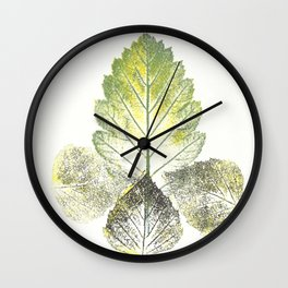 Leaves (autumn) Wall Clock