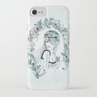 charmaine olivia iPhone & iPod Cases featuring Olivia by Quill