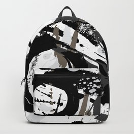 Enso Groove B by Kathy Morton Stanion Backpack