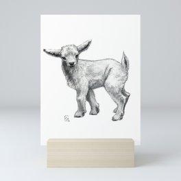 Little Goat Baby  SK134 Mini Art Print