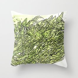 most gushrooms Throw Pillow
