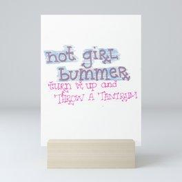 tantrum Mini Art Print