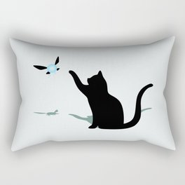 Cat and Navi Rectangular Pillow