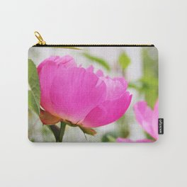 Peony in bloom Carry-All Pouch
