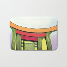 Cactus Pagoda Architectural Design 53 Bath Mat
