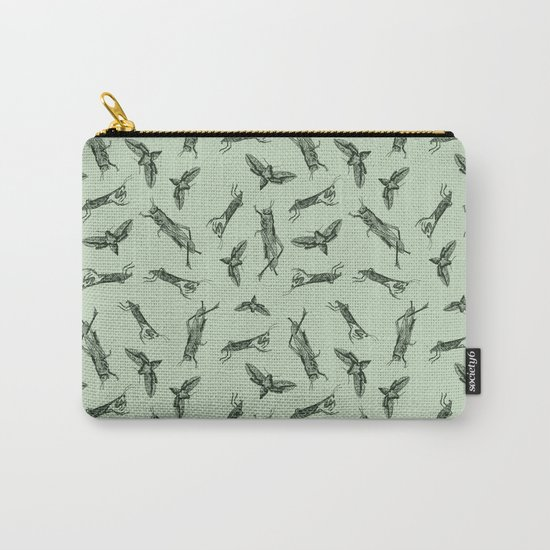 Insects Pattern Carry-All Pouch