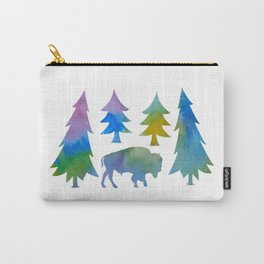 bison / buffalo Carry-All Pouch