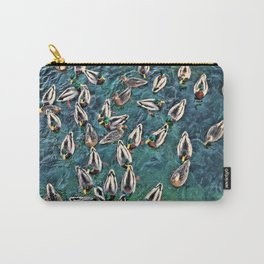 Duck Swarm Carry-All Pouch