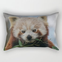 Beautiful Red Panda Rectangular Pillow