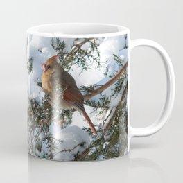 Snow for Breakfast (Cardinals) Coffee Mug