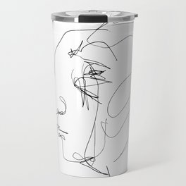 He looked older from the side Travel Mug