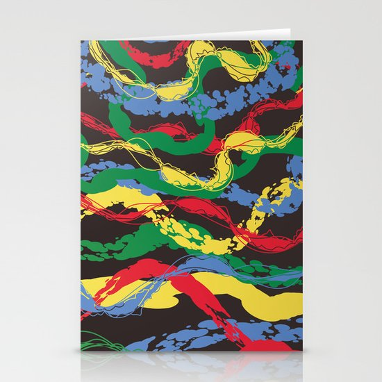 Plastic Dawn Stationery Cards
