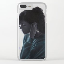 No One Said It Would Be Hard Clear iPhone Case