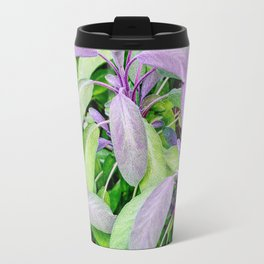 Leaf Abstract Travel Mug