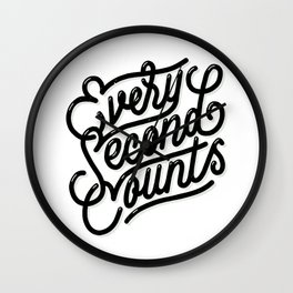 Every Second Counts Wall Clock