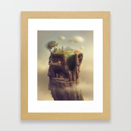 A Slice of Life Framed Art Print