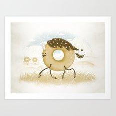 Mr. Sprinkles Art Print