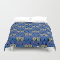 angel wings Duvet Covers featuring Angel Wings by Art Tree Designs