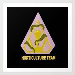 Horticulture Team Art Print