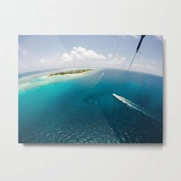 Dreams of small islets Metal Print