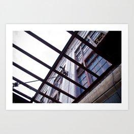 Building in Rehab Art Print