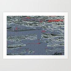 water call. Art Print