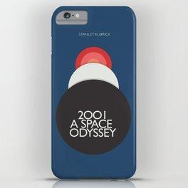 2001 a Space Odyssey, Stanley Kubrick alternative movie poster, dark blue  classic film, cinema love iPhone Case