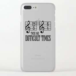 Music Orchestra Conductor sarcasm Choir Gift Clear iPhone Case