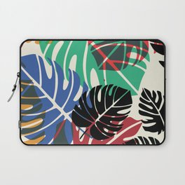 Chew chew's summer palm leaves Laptop Sleeve