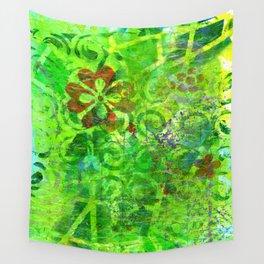 Very Vert Wall Tapestry