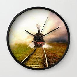 Chuu Chuu Train Wall Clock