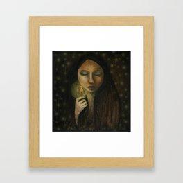 Little Match Girl Framed Art Print