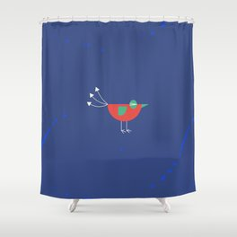 Birdie-6 Shower Curtain