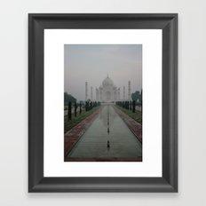 Taj dawn Framed Art Print