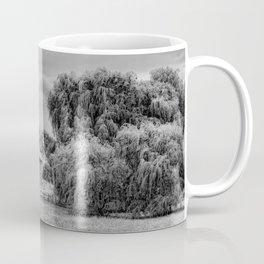 Down on the Farm Black and White Coffee Mug