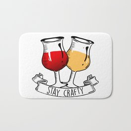 Stay Crafty Bath Mat