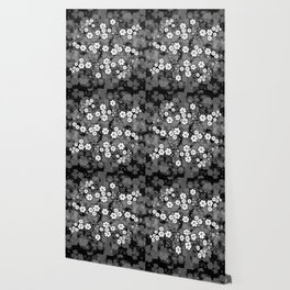 Abstract floral background Wallpaper