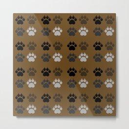 Dog - Paws Metal Print