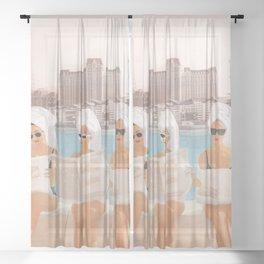 Hotel Morning Sheer Curtain