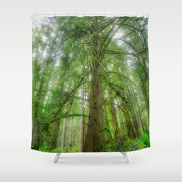 Ethereal Tree Shower Curtain