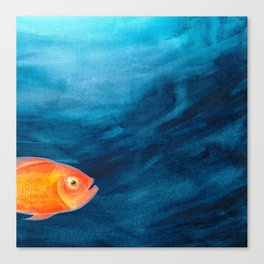 Go swimmingly Canvas Print