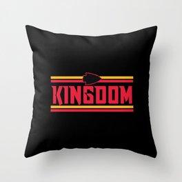 Kansas City KC Throw Pillow