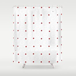 Circular 19 Shower Curtain