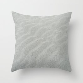 Natural wave patern Throw Pillow