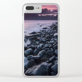 Sunset at Elgol II Clear iPhone Case
